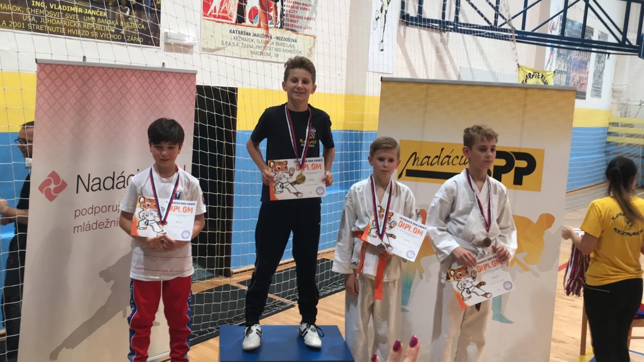 Majstrovstva Tauka ml.kadetov,kadetov,juniorov ,U 21. 1.kolo pohára žiakov 2018