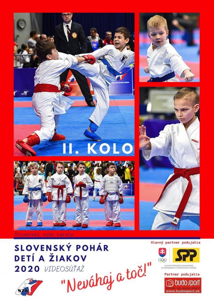 SLOVENSKÝ POHÁR DETÍ A ŽIAKOV 2020 - NEVÁHAJ A TOČ! - 2. KOLO - 08.12.2020