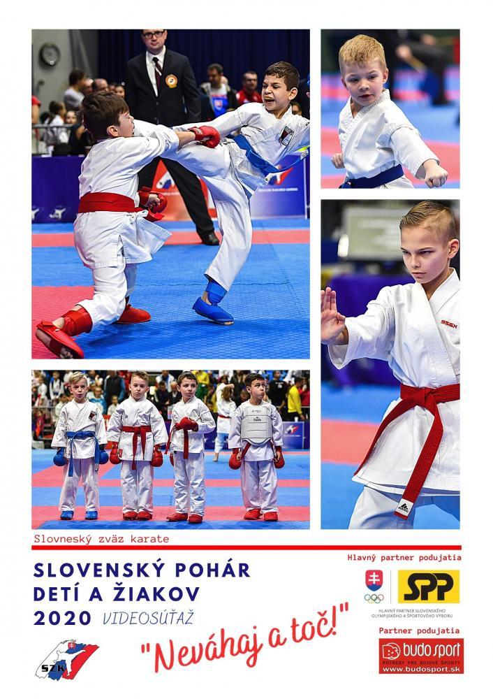 SLOVENSKÝ POHÁR DETÍ A ŽIAKOV 2020 - NEVÁHAJ A TOČ! - 1. KOLO - 23.11.2020