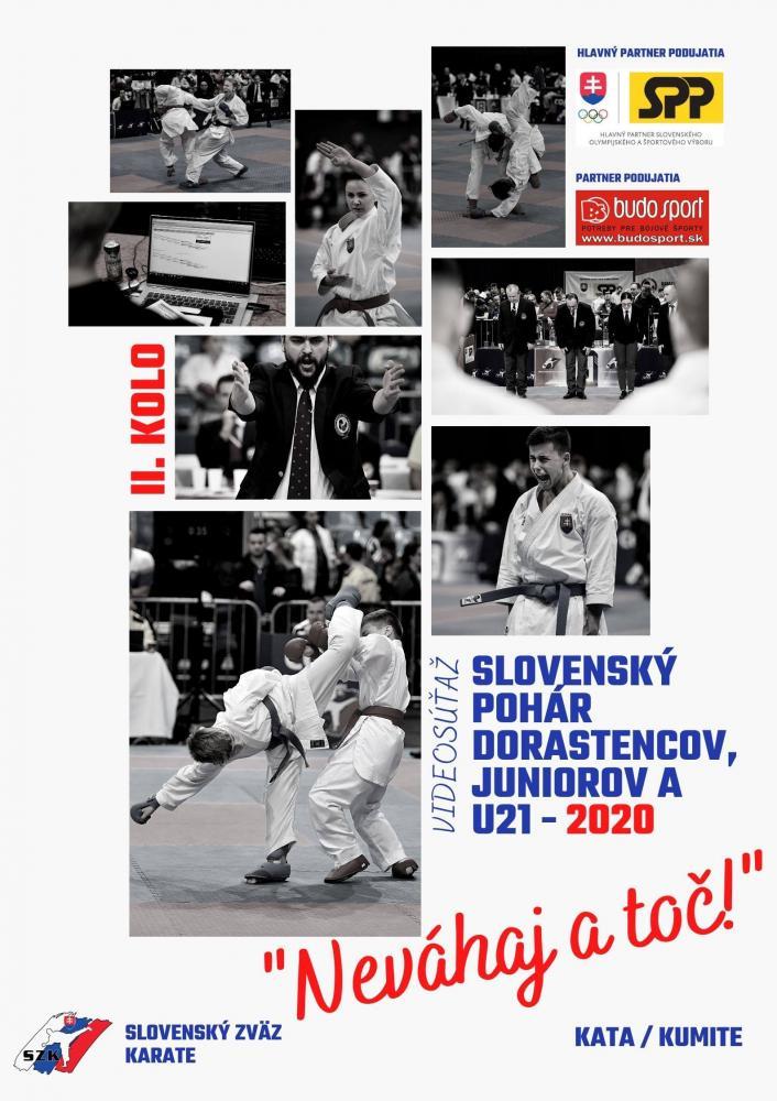 SLOVENSKÝ POHÁR DORASTENCOV, JUNIOROV A U21 2020 - NEVÁHAJ A TOČ! - 2. KOLO - 23.11.2020