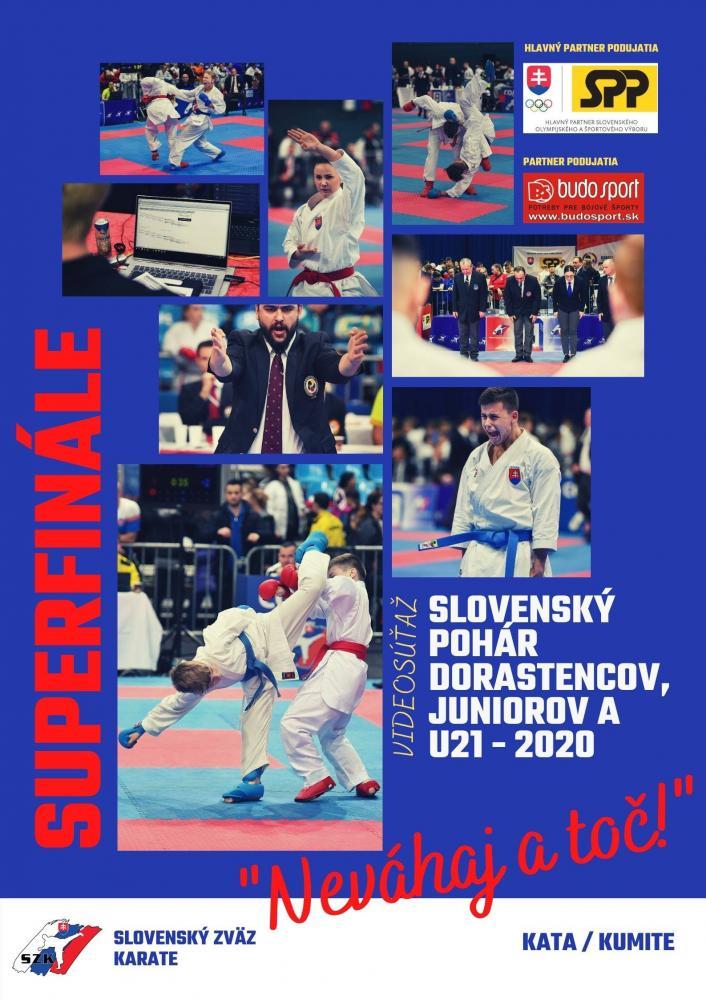 SLOVENSKÝ POHÁR DORASTENCOV, JUNIOROV A U21 2020 - SUPERFINÁLE - 04.12.2020