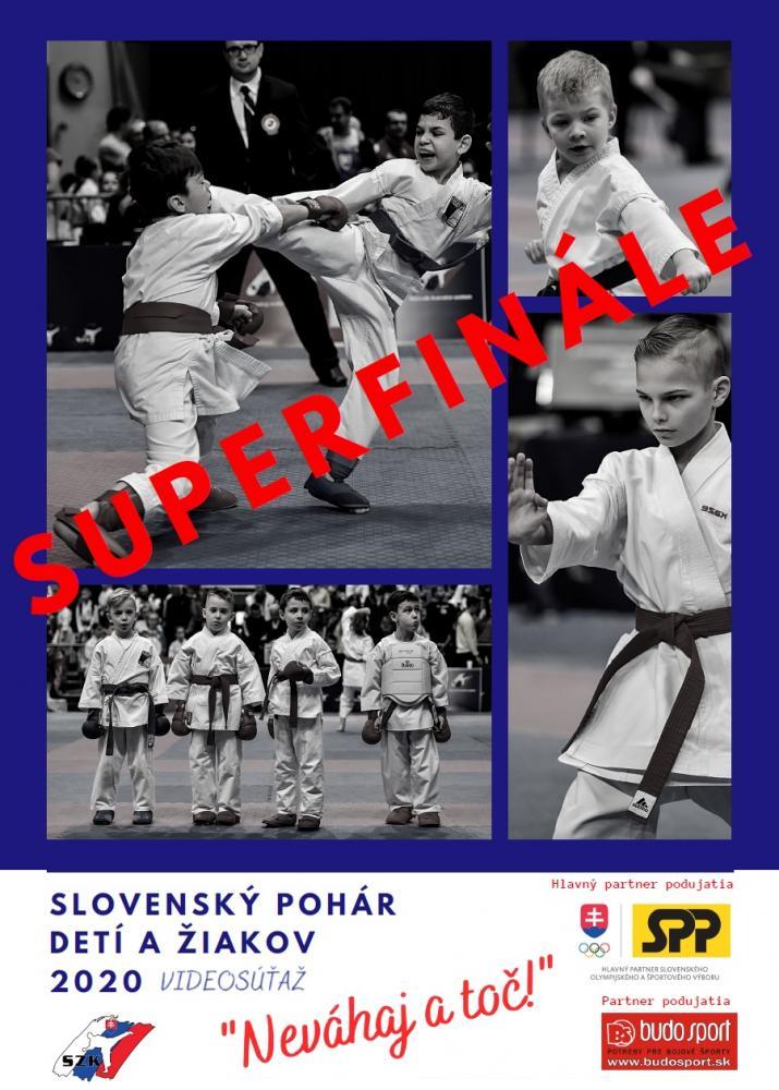 SLOVENSKÝ POHÁR DETÍ A ŽIAKOV 2020 - NEVÁHAJ A TOČ! - SUPERFINÁLE - 14.12.2020